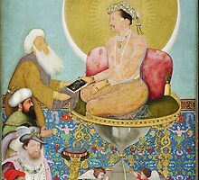Jahangir preferring a Sufi sheikh to kings   Bichitr   1618 by Adam Asar