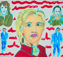 Hillary To The Rescue? by Joni Philbin