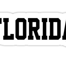 Florida Jersey Black Sticker