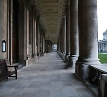 Pillars of the Royal Naval College Greenwich by DavidFrench