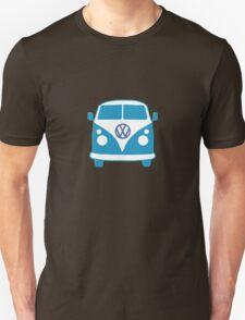 VW Camper T Shirt (blue) T-Shirt
