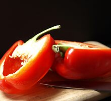 RED BELL PEPPER by Sharon A. Henson