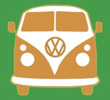 VW Camper T Shirt (orange) T-Shirt