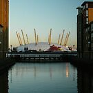 Dome O2 at dusk by DavidFrench