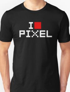 A retro love, I love pixel T-Shirt