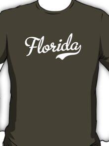 Florida Script White T-Shirt