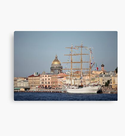 Cuauhtemoc  Mexican three-masted barque  Canvas Print