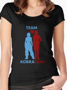 team korrasami Women's Fitted Scoop T-Shirt