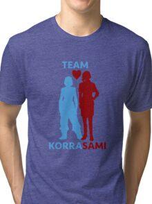 team korrasami Tri-blend T-Shirt