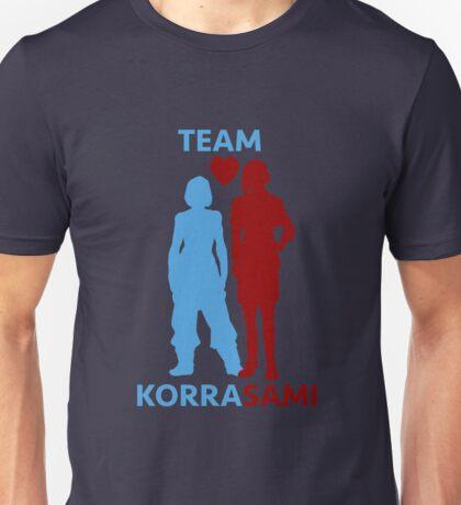 team korrasami Unisex T-Shirt