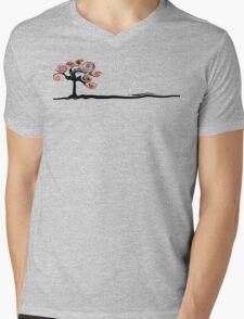 Red Flower Tree T-Shirt