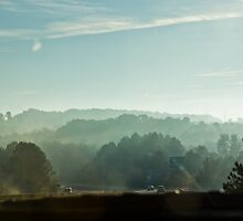 Driving to Athens, GA  by KSKphotography