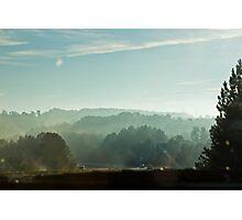 Driving to Athens, GA  Photographic Print