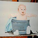 Baby portrait by dummy
