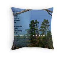 Breather-Creator Throw Pillow