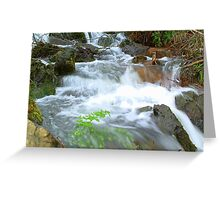 Fast Flowing Greeting Card