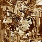 Sepia Collage Study 29. by - nawroski -