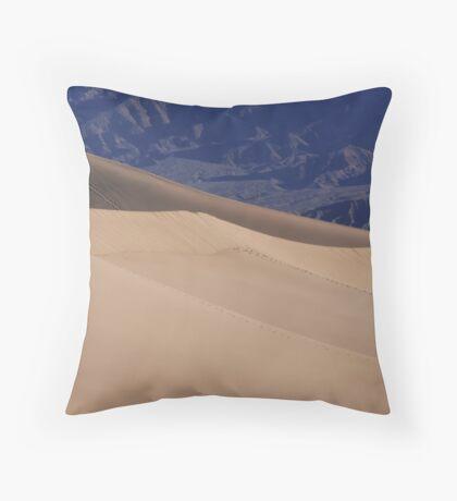 Sand Dunes - Death Valley Throw Pillow