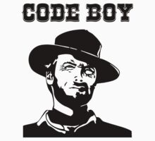 Code Boy - Western Parody Design for Programmers by ramiro