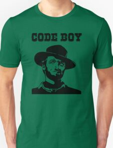 Code Boy - Western Parody Design for Programmers T-Shirt