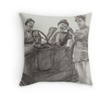 'Leave 'em Laughing' Throw Pillow