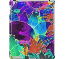 Floral Abstract Artwork iPad Case/Skin