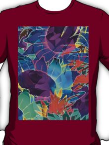 Floral Abstract Artwork T-Shirt