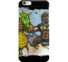 King Kong Vs. Floaty iPhone Case/Skin