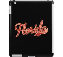 Florida Script Crimson  iPad Case/Skin