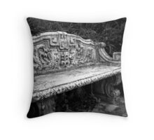 A peaceful rest Throw Pillow