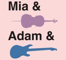 Mia & (Cello) & Adam & (Guitar). Kids Clothes