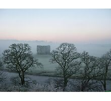 Grennan Castle Outside Thomastown in Kilkenny on a Frosty Morning Photographic Print