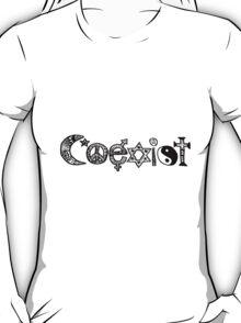 """""""Coexist"""" Zentangle T-Shirt"""