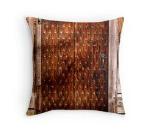 Tudor 1 Throw Pillow