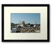 Reality of a midwest tornado Framed Print