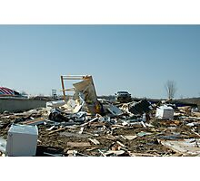 Reality of a midwest tornado Photographic Print