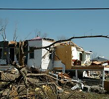 Reality of a midwest tornado 2 by Jim Caldwell