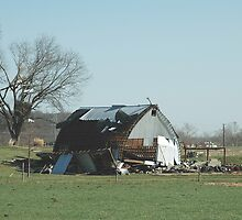 Reality of a midwest tornado 3 by Jim Caldwell