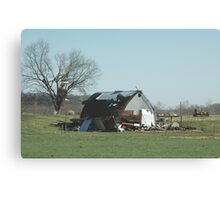 Reality of a midwest tornado 3 Canvas Print