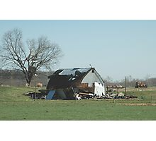 Reality of a midwest tornado 3 Photographic Print