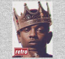 Kendrick Lamar - Retro  One Piece - Long Sleeve