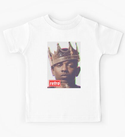 Kendrick Lamar - Retro  Kids Tee