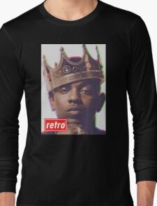 Kendrick Lamar - Retro  Long Sleeve T-Shirt