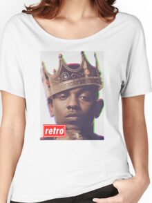 Kendrick Lamar - Retro  Women's Relaxed Fit T-Shirt