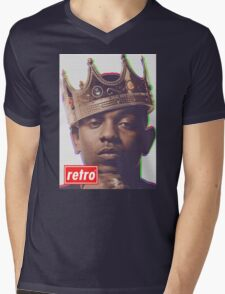 Kendrick Lamar - Retro  Mens V-Neck T-Shirt