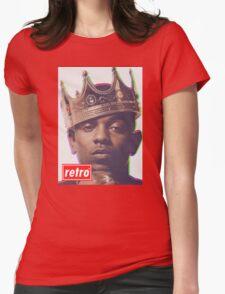 Kendrick Lamar - Retro  Womens Fitted T-Shirt