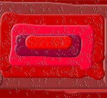 (REDS) ERC WHITEMAN ART  by eric  whiteman