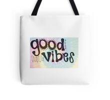 Tie Dye Good Vibes Tote Bag