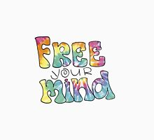 Tiedye Free Your Mind Quote Unisex T-Shirt