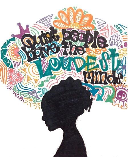alexavec     Portfolio     Quiet People Have The Loudest MindsQuiet People Have The Loudest Minds